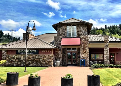 Bogey's Restaurant at Auburn Golf Course
