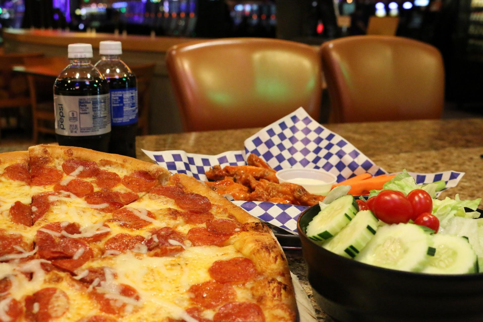 Pizza Parlor at Muckleshoot Casino 1