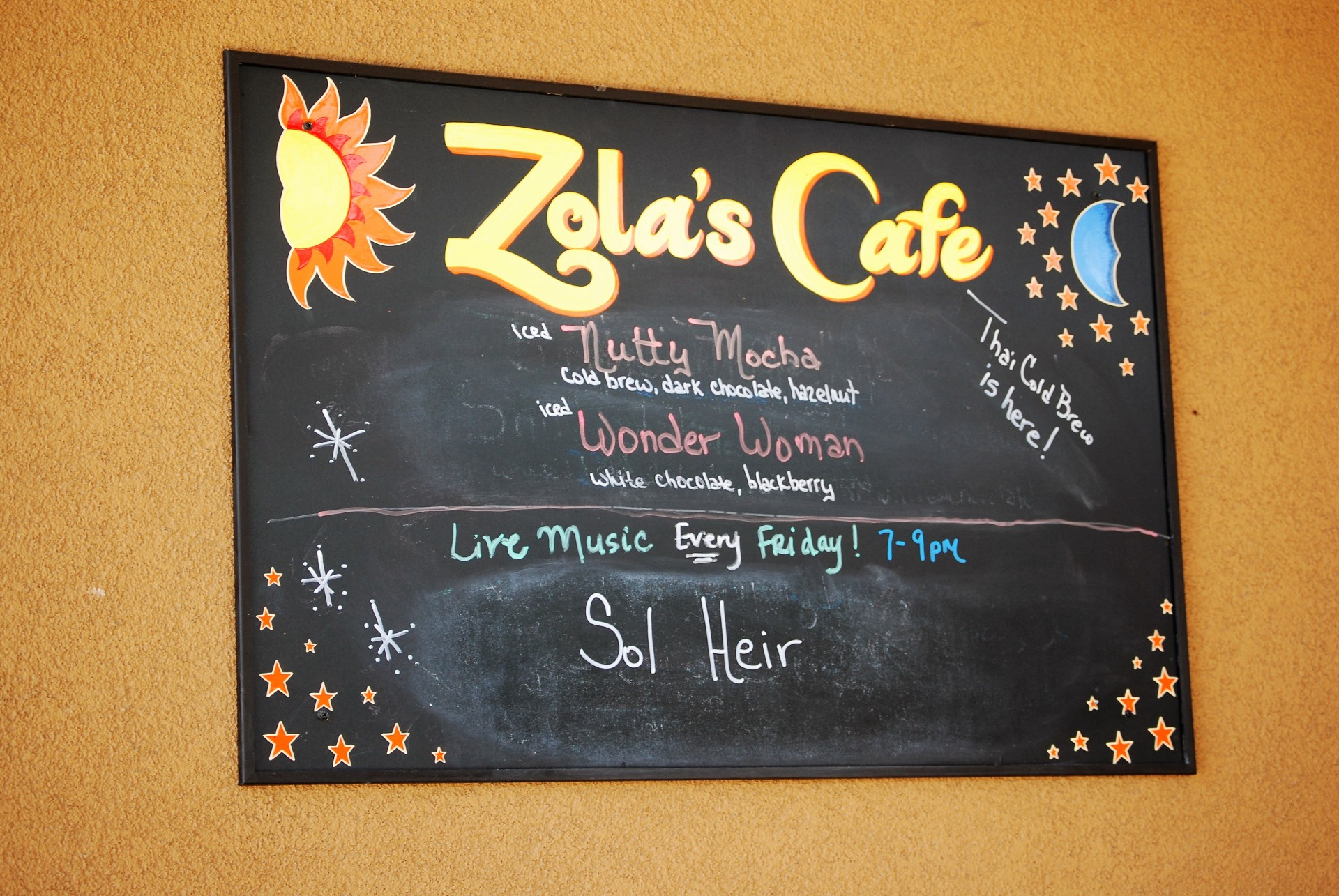 Zola's Coffee Shop 2