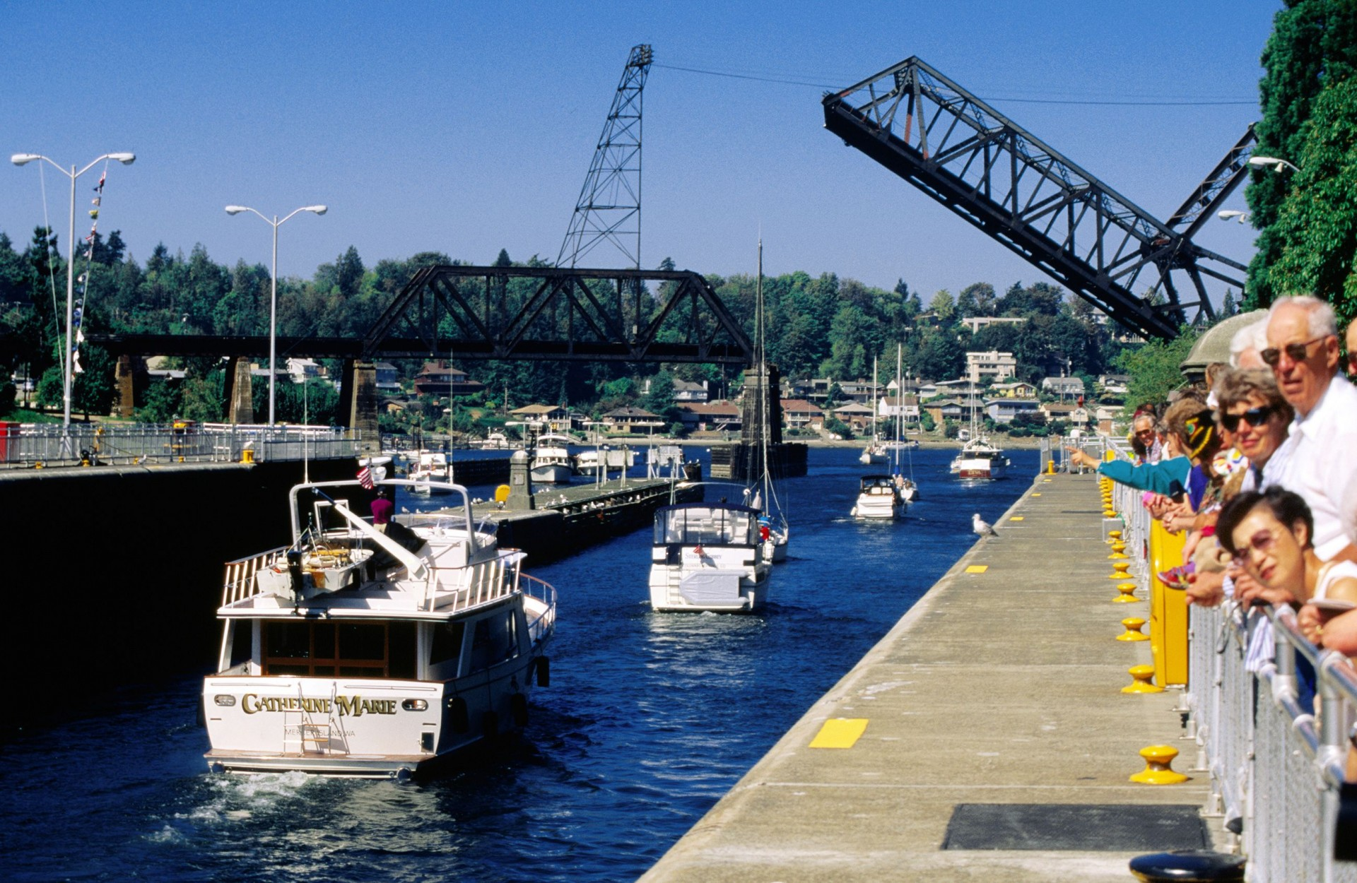 best places to stop in Seattle | Ballard Locks