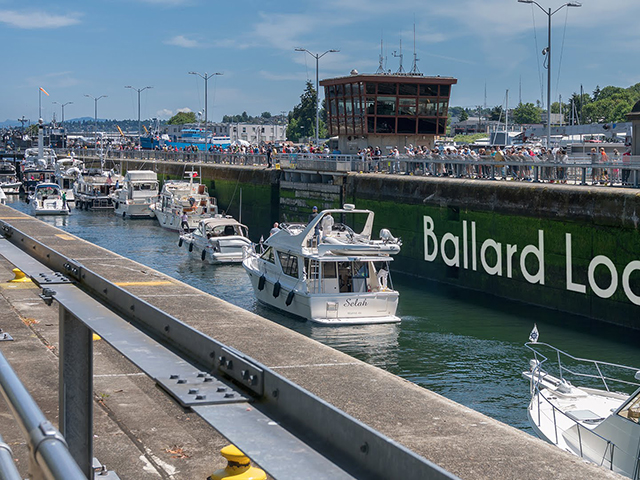 ScenicWA | 365 Things to Do in Washington State | Ballard Locks