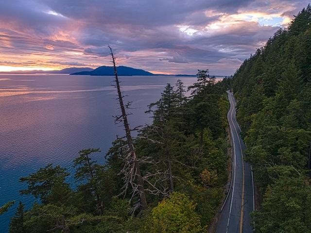 Scenic Washington |Best Roadtrips|Chuckanut Drive