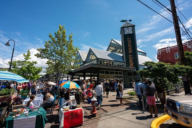 Scenic Washington |Farmers Market|Bellingham Farmers Market