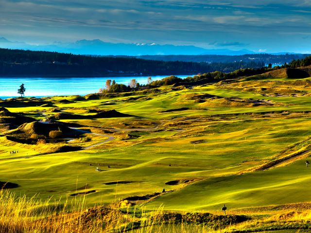 best golf courses in Washington State | Chambers Bay Golf Course