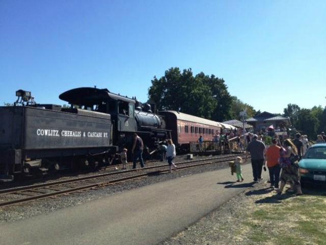 antique train museums | Chehalis-Centralia Railroad