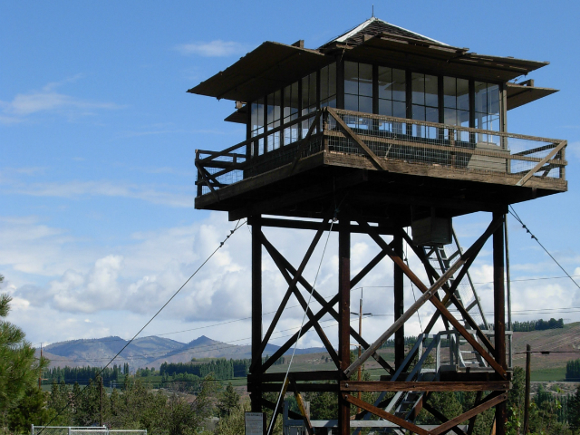 scenic views in Chelan | Fire Lookout