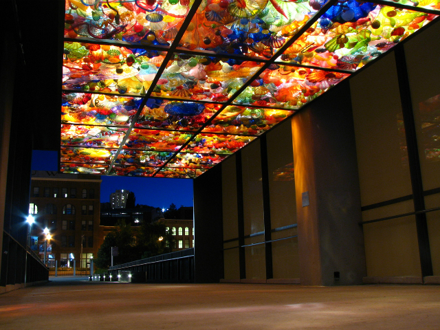 must see places in Tacoma | Chihuly Bridge of Glass