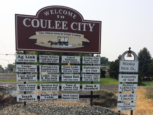 Washington States funnest small towns | Coulee City
