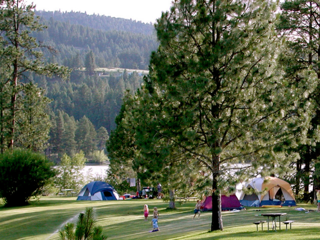 where to go camping in Washington State