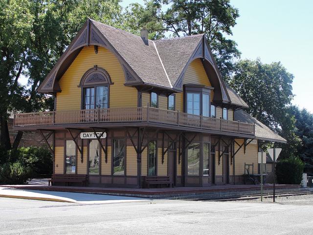 WA best historic towns | Dayton Historic Depot
