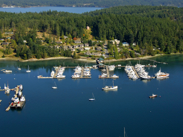 best marinas in Washington State
