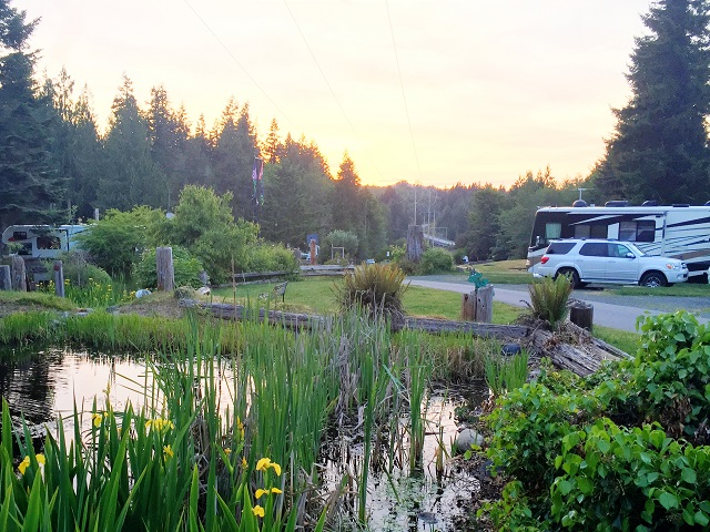 ScenicWA | Best Places to Stay in Washington State | Elwha Dam RV Park