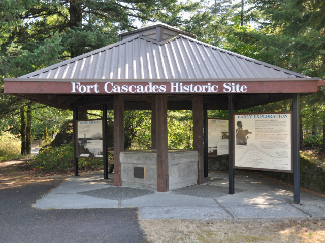 what to do near North Bonneville | Fort Cascades