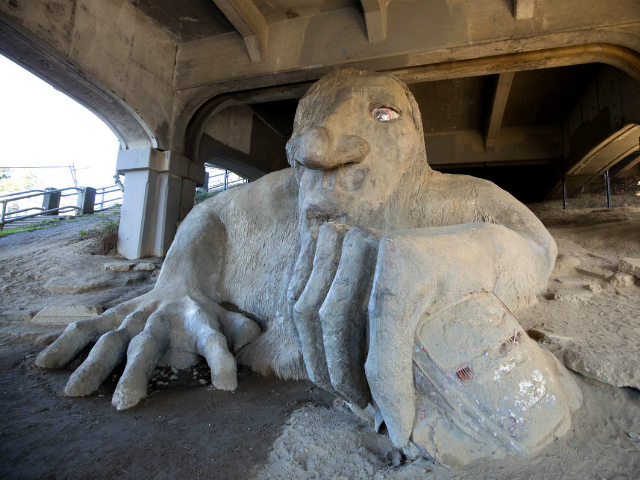 best family fun in Seattle | Fremont Troll