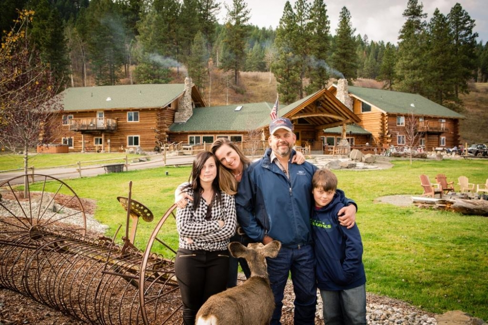 ScenicWA | Best Places to Stay in Washington State | K Diamond K Ranch