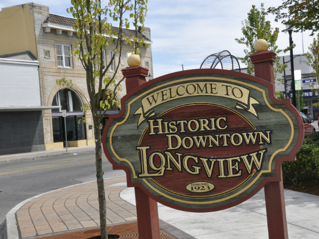 historic towns in Washington | Longview