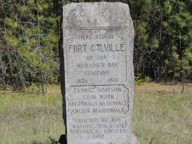 Fort Colville Monument