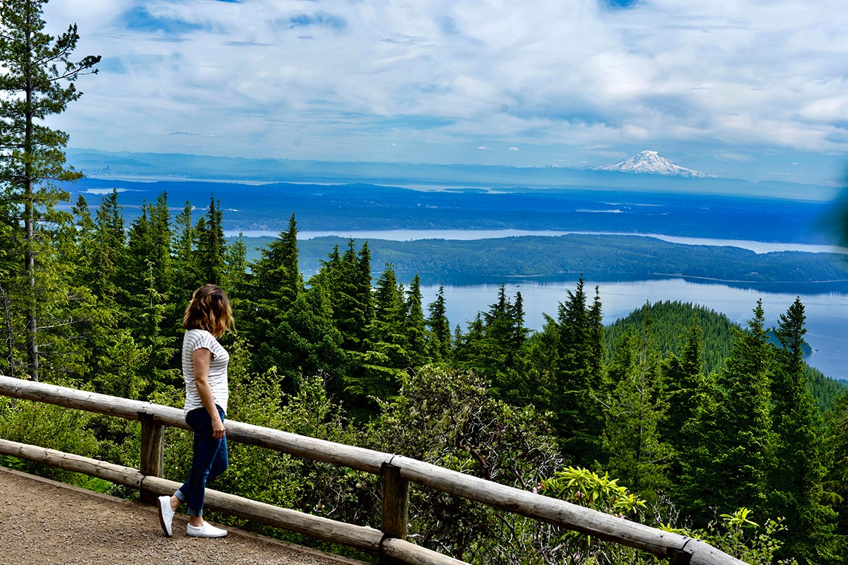 ScenicWA | Best Things to Do in Washington State | Mt. Walker Viewpoint