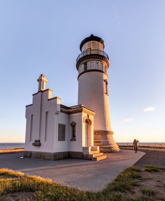 Scenic WA | Best Things to Do in Washington State | North Head Lighthouse