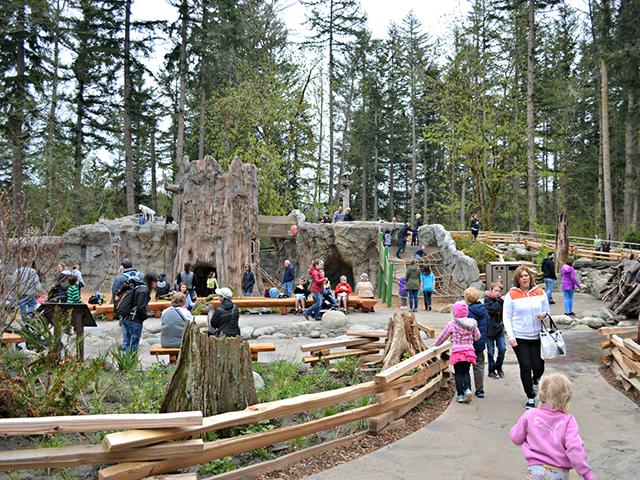 Scenic WA | Best Things to Do in Eatonville Washington | Northwest Trek Wildlife Park