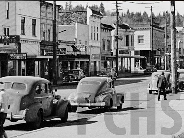 South Bend Circa 1947 ©Pacific County Historic Society
