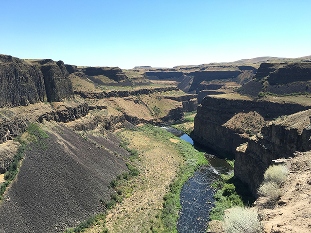 Scenic WA | Best Places to See in Washington State | Palouse Falls