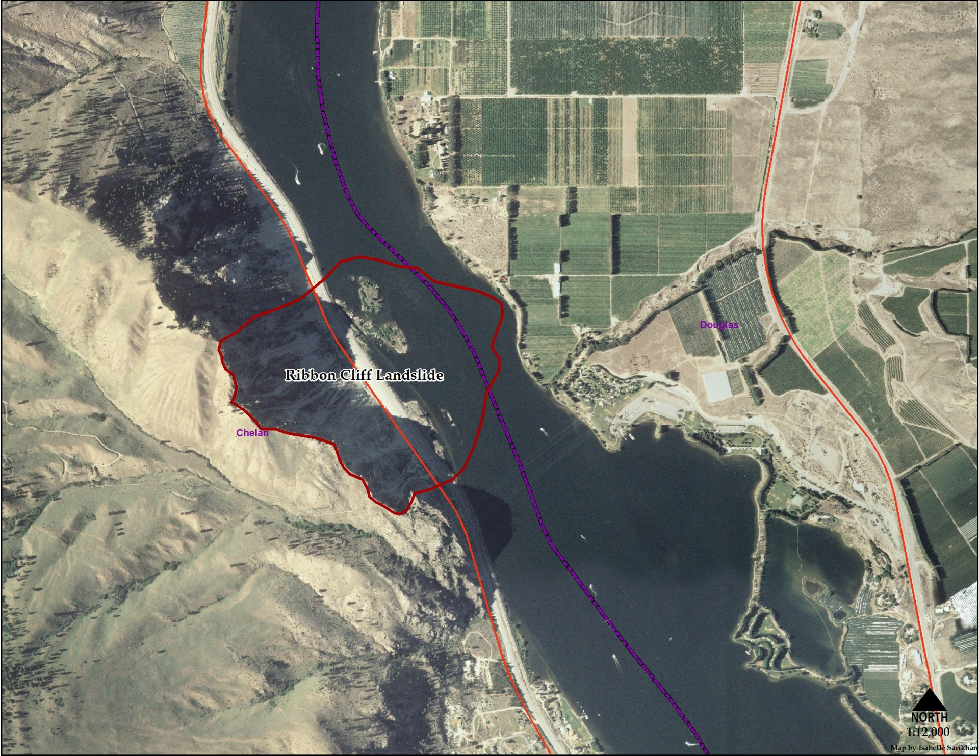 Best Places to Visit in Washington State   Ribbon Cliff Landslide