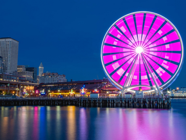ScenicWA | Best Things to Do in Seattle Washington| Seattle Great Wheel