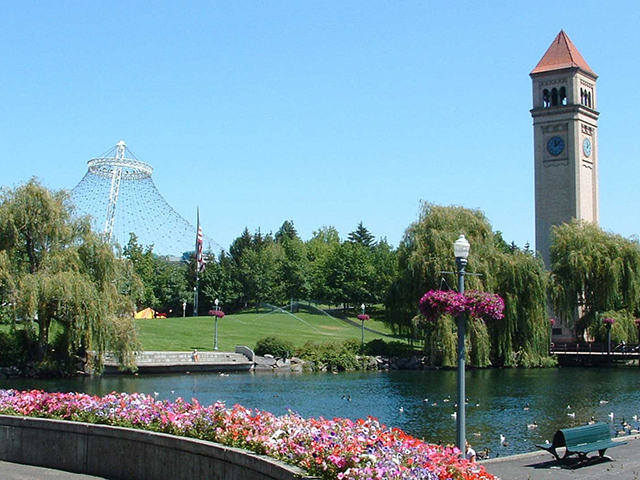 Spokane Riverfront Park Clocktower