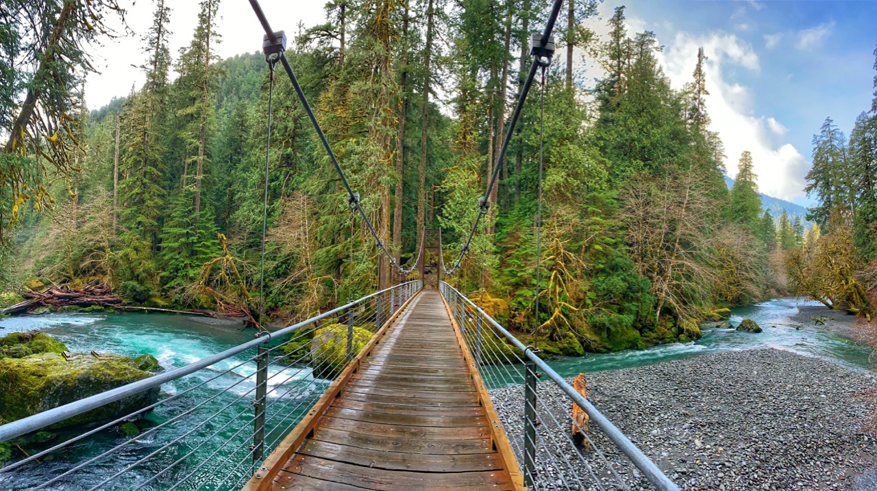 ScenicWA | Best Things to Do in Washington State | Staircase Rapids