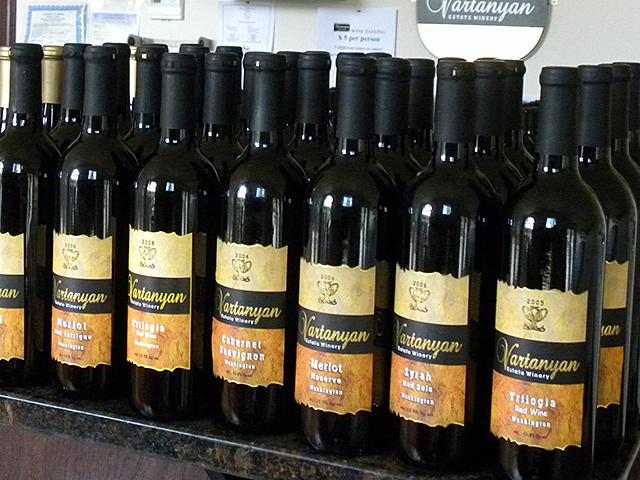 Vartanyan Estate Winery| Wine Tasting | Scenic Washington State