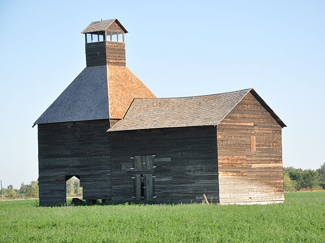 1890-era Hop Kiln near Wapato