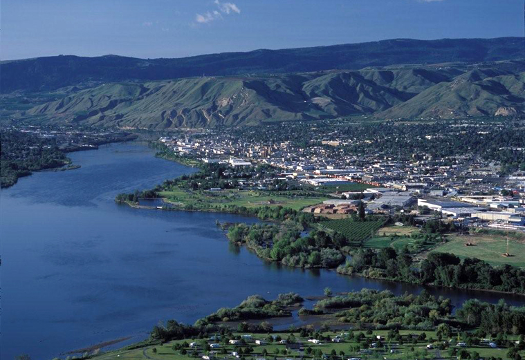 Wenatchee on the Columbia