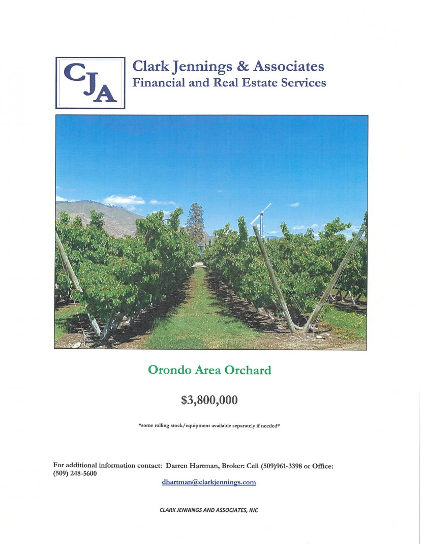 G & C ORCHARDS / ORONDO / $3,800,000 1