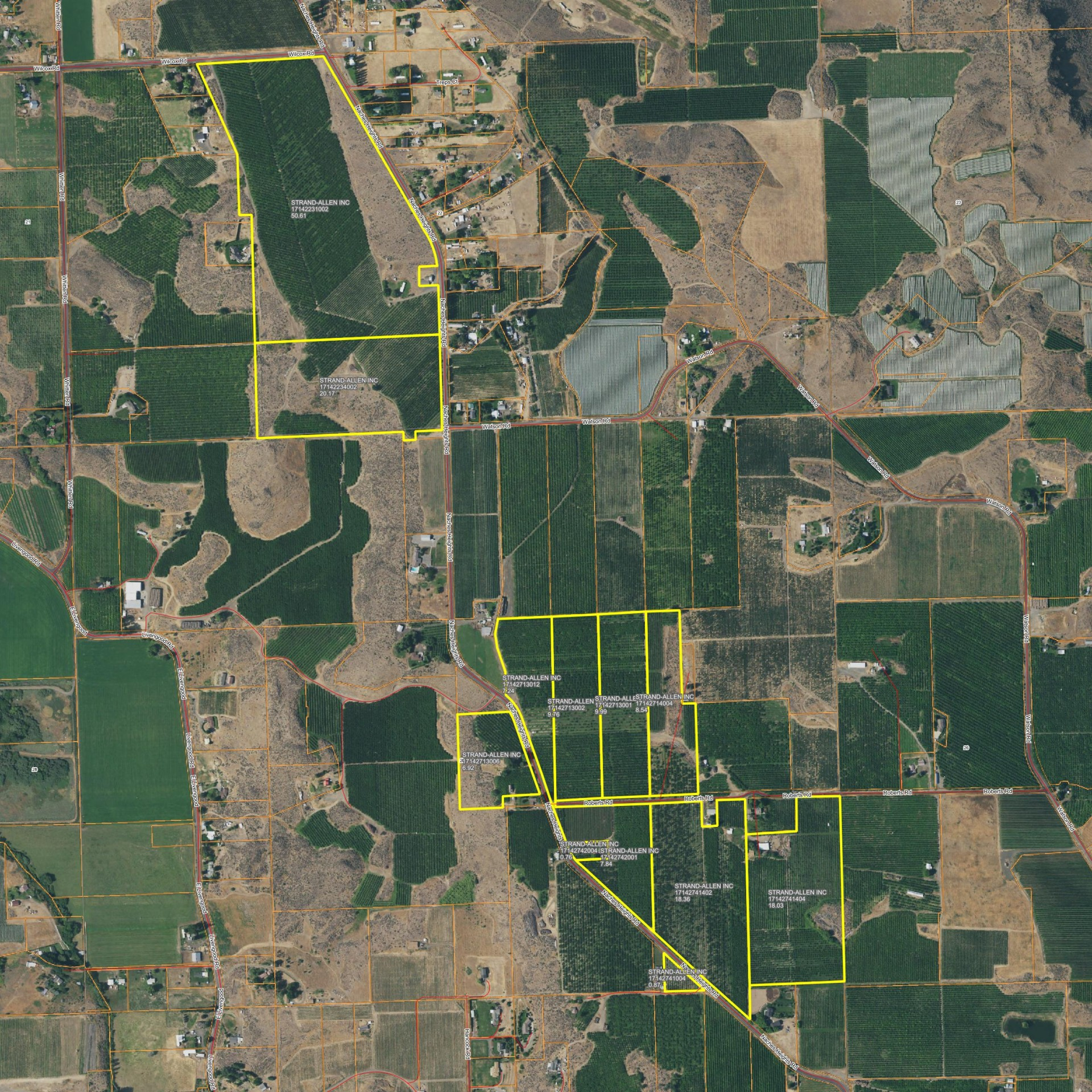 NACHES HEIGHTS ORCHARD FOR SALE...MULTIPLE TRACTS