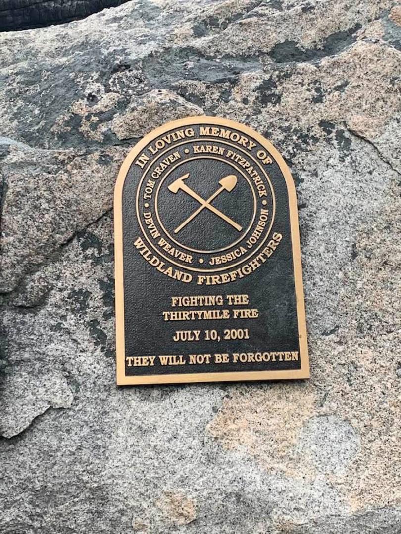 Thirtymile Fire Memorial PC Johnny Valdovinos