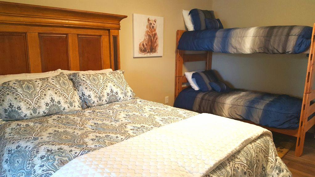 Downstairs Bedroom - 3 beds