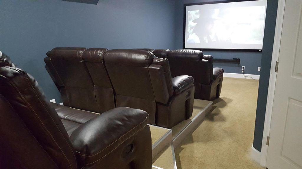 Movie Room - 3 Row Seating
