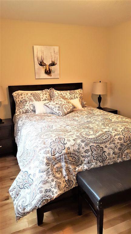 Two Main Floor Queen Bedrooms