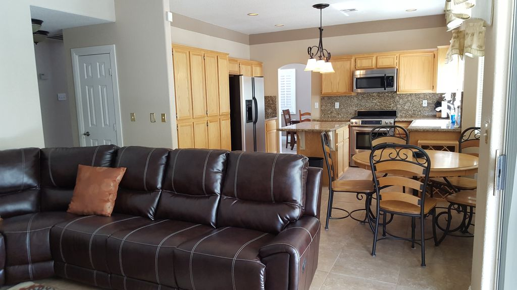 Open Concept Kitchen & Living Room