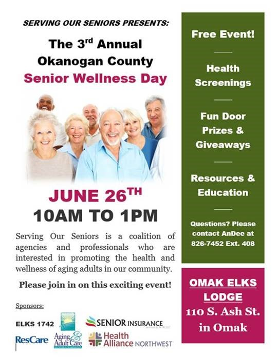 Door prizes for senior adults
