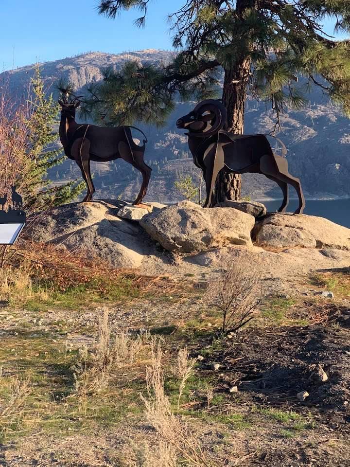 Bighorn Sheep Sculpture