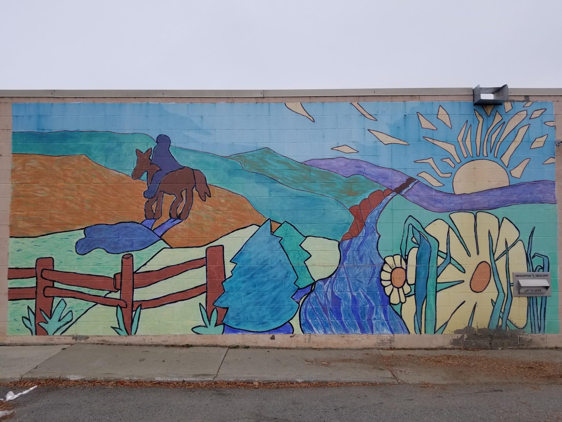 City Hall Mural 1