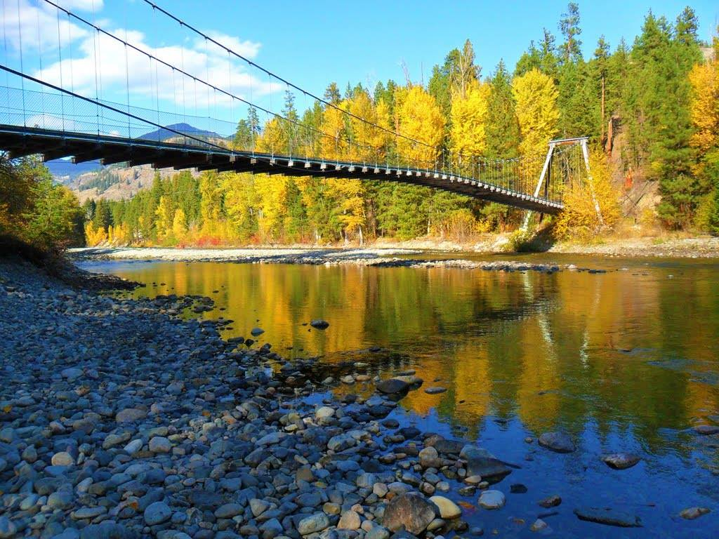 Methow Trails Suspension Bridge