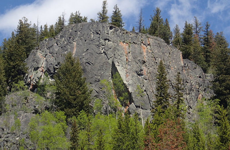 Toats Coulee - Middle Fork - Crag