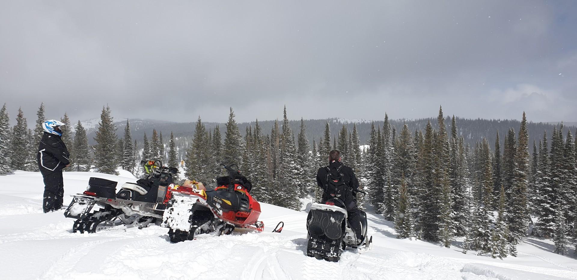 Snowmobiling 1